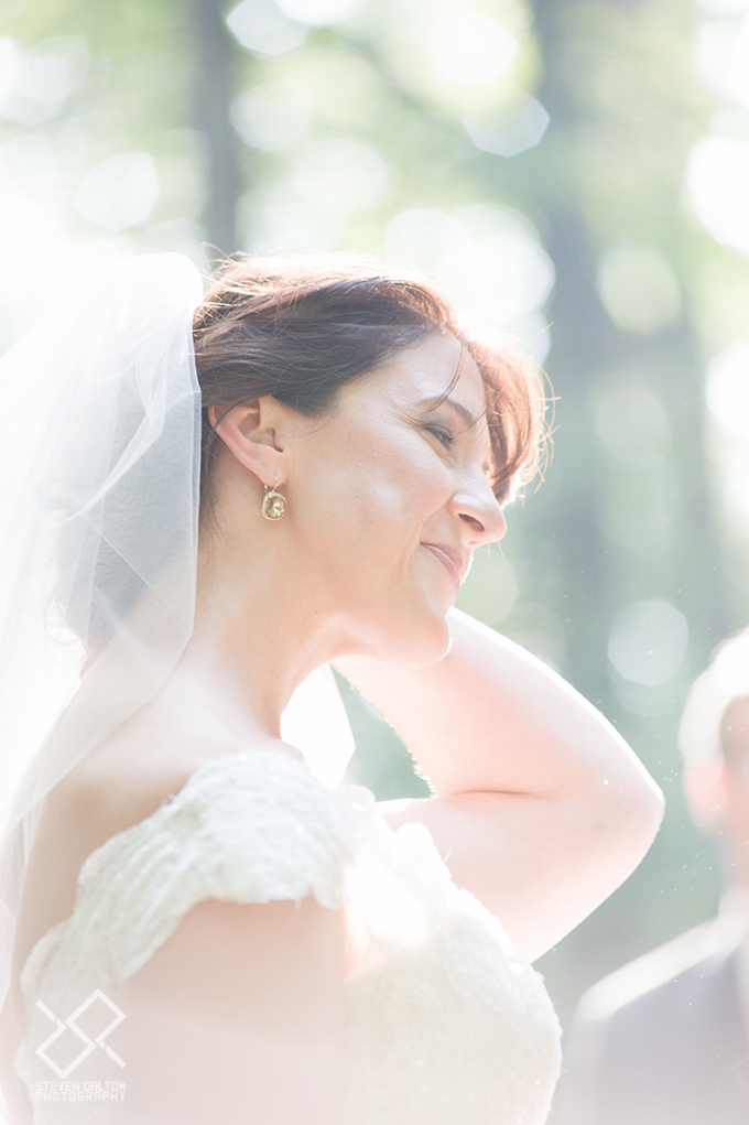 The Happy Bride! Photo by Dalton Photography
