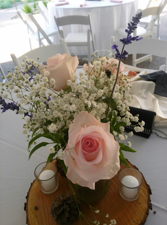 Daneille and Ryan Centerpiece