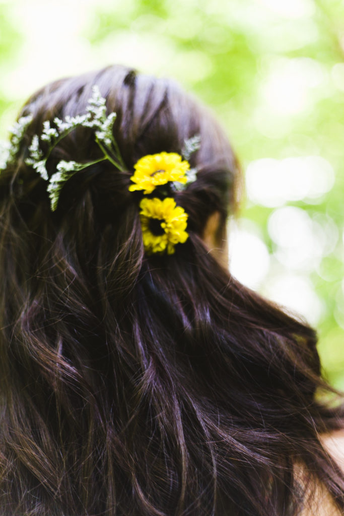Tara's Hair with Flowers