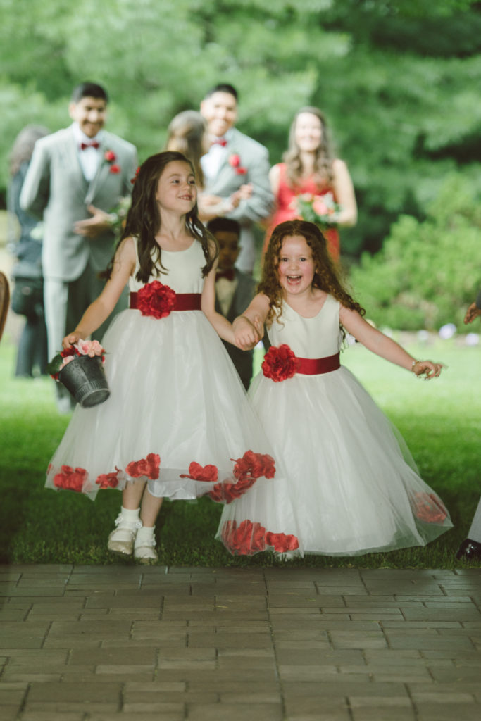 Flower Girls Entering Reception