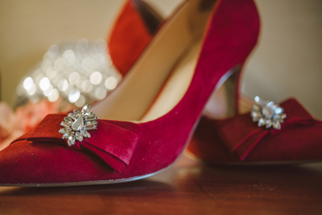 Red Wedding Shoes KDE